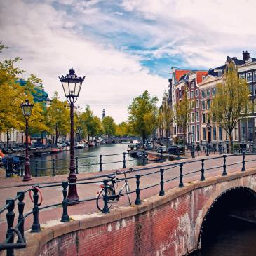 Flight to Amsterdam