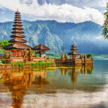 Flight to Bali
