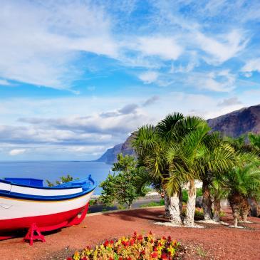 Flight to Tenerife