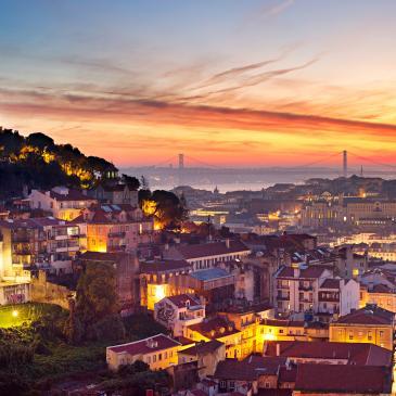 Flight to Lisbon