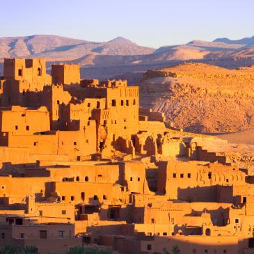 Flight to Morocco