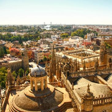 Flight to Seville