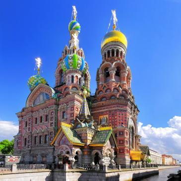 Flight to St Petersburg
